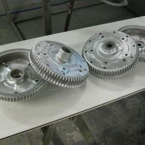 überarbeitete Bremstrommeln eines B/T6 Models