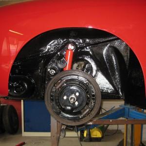Montage und Zusammenbau des Fahrzeuges